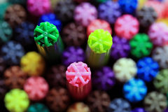 Farbenfedern Lizenzfreies Stockfoto