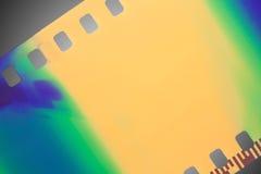 Farbenfilm stockfoto