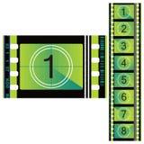 Farbenfilm 70mm. lizenzfreie abbildung
