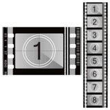 Farbenfilm 70mm. stock abbildung