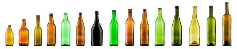 Farbenflaschen lizenzfreie abbildung