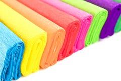 Farbenfließpapier Stockbild