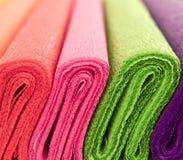 Farbenfließpapier Lizenzfreie Stockfotografie