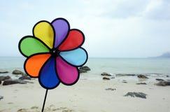 Farbengebläse Stockbild