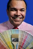 Farbengeschäft Lizenzfreie Stockfotografie