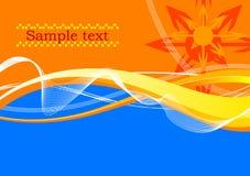 Farbenhintergrund Stock Abbildung