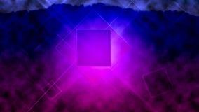 Farbenhintergrund mit Leuchte Lizenzfreie Stockfotografie