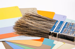 Farbenkarte Lizenzfreies Stockbild