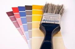 Farbenkarte Lizenzfreie Stockfotos