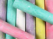 Farbenkreide stockfotografie