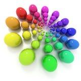 Farbenkreis Lizenzfreies Stockbild