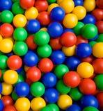 Farbenkugeln lizenzfreies stockbild
