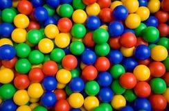 Farbenkugeln stockbilder
