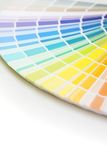 Farbenladeplatte mit Exemplarplatz Stockbilder