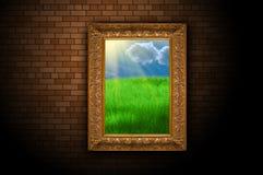Farbenlandschaft Lizenzfreie Stockfotos