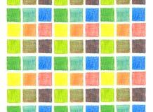 Farbenmischungshintergrund, Bleistifte Lizenzfreie Stockfotografie