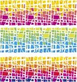 Farbenmosaik stock abbildung