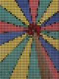 Farbenmosaikhintergrund Lizenzfreie Stockbilder