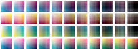 Farbenmuster Stockbild