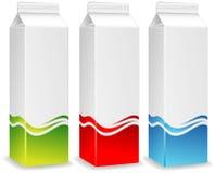 Farbenpakete Stockfoto