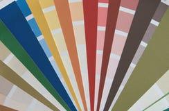 Farbenpalette Stockbilder