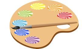 Farbenpalette Stockbild