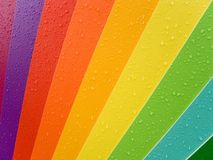 Farbenpalette Stockfoto