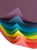 Farbenpapier Lizenzfreie Stockfotografie
