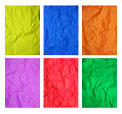 Farbenpapierbeschaffenheit Lizenzfreies Stockfoto