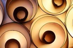 Farbenpapierdekoration Stockfotografie