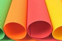 Farbenpapiere Lizenzfreie Stockbilder