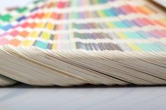Farbenpapiere Lizenzfreies Stockfoto