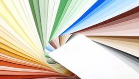 Farbenproben Lizenzfreies Stockfoto