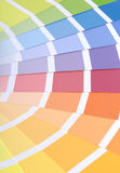 Farbenproben Stockfotos