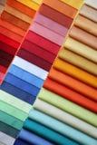 Farbenproben Stockbild