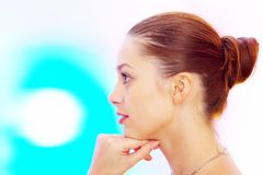 Farbenprofil Stockbild