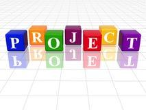 Farbenprojekt stock abbildung