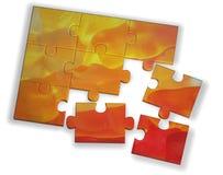 Farbenpuzzlespiel Lizenzfreie Stockbilder