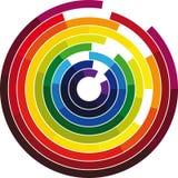 Farbenrad Lizenzfreie Stockfotos