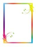 Farbenrahmen Stockfoto