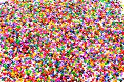 Farbenreiche Perlen Stockfotos