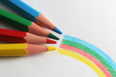 In farbenreichem Lizenzfreie Stockfotografie