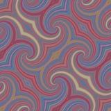 Farbenreiches Retro- nahtloses (wiederholendes) Muster Stockbilder
