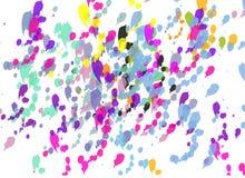 Farbenspritzen lizenzfreie abbildung