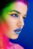 Farbenspritzen Lizenzfreies Stockfoto