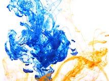 Farbenwasser stockfoto