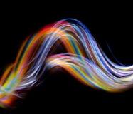 Farbenwelle Stockbild