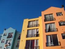 Farbenwohnungen Lizenzfreies Stockbild