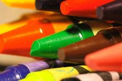 Farbenzeichenstifte Lizenzfreies Stockbild