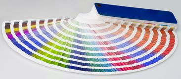Farbenzeilen Lizenzfreie Stockbilder
